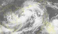 Storm Lionrock heading to Vietnam's north-central region