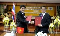 พัฒนาการใหม่ของความร่วมมือระหว่างสถานีวิทยุกระจายเสียงเวียดนามกับกรมประชาสัมพันธ์ไทย