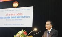 """รองนายกรัฐมนตรีเวียดนามVũ Văn Ninh เปิดการรณรงค์""""เดือนที่เร่งด่วนเพื่อผู้ยากจน"""""""