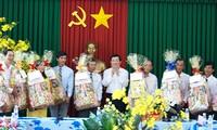 ประธานประเทศเวียดนามTrương Tấn Sangลงพื้นที่จังหวัดĐồng Tháp