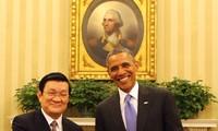 เวียดนามและสหรัฐสถาปนาความสัมพันธ์หุ้นส่วนในทุกด้าน
