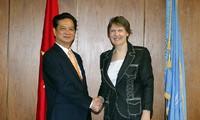 เวียดนามให้คำมั่นสัญญาผลักดันความร่วมมือกับองค์การชำนัญแห่งสหประชาชาติ