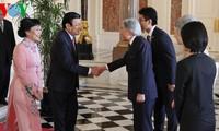 ท่านเจืองเติ้นซางประธานประเทศเวียดนามเสร็จสิ้นการเยือนญี่ปุ่น