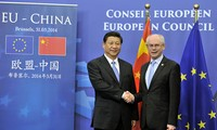 จีนและอียูเห็นพ้องขยายความร่วมมือในปัญหาภูมิภาคและโลก