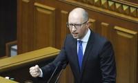 รัฐสภายูเครนปฏิเสธใบลาออกจากตำแหน่งของนายอาร์เซนี ยัจเซนยุครักษาการนายกรัฐมนตรียูเครน