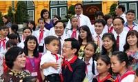 ประธานประเทศเวียดนามส่งสาส์นถึงเด็กๆในโอกาสฉลองเทศกาลไหว้พระจันทร์