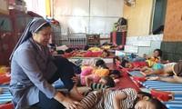 Монахиня Нгуен Тхи Ким Тьи – мать детей-сирот в детском доме Тхиенан