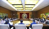 Подготовительная работа к выборам в Парламент и Народные советы
