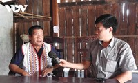 Староста селения А Блонг завоевал доверие жителей пограничной общины Морай уезда Шатхаи провинции Контум