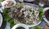 Своеобразные блюда народности таи из колючего барбуса
