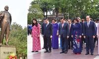 Власти города Ханоя возложила венок в память о В.И. Ленине