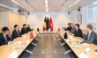 Глава вьетнамского парламента Выонг Динь Хюэ провел встречу с вице-премьером Бельгии