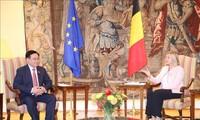Переговоры между Нацсобранием Вьетнама и Палатой представителей Бельгии