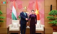 Chủ tịch Quốc hội Nguyễn Thị Kim Ngân tiếp Thủ tướng Hungary Orbán Viktor