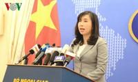 Việt Nam khẳng định lập trường về quyền tự do hàng hải và hàng không ở Biển Đông