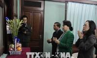 Chủ tịch Quốc hội Nguyễn Thị Kim Ngân dâng hương, tưởng nhớ Chủ tịch Hồ Chí Minh