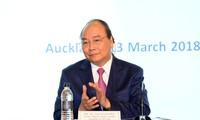 Thủ tướng Nguyễn Xuân Phúc dự Diễn đàn Doanh nghiệp Việt Nam-Newzealand