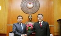 Thắt chặt mối quan hệ giữa hai tổ chức mặt trận Việt Nam - Lào