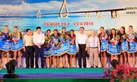 Khai mạc Giải Bóng chuyền bãi biển nữ châu Á năm 2018