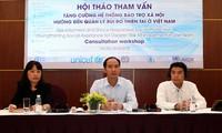 Nâng cao năng lực hệ thống bảo trợ xã hội trong quản lý rủi ro thiên tai tại Việt Nam