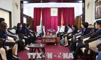 Gặp gỡ đoàn đại biểu thanh niên Việt Nam tham gia Chương trình trao đổi sinh viên ASEAN - Ấn Độ