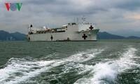 Tàu bệnh viện USNS Mercy tham gia Chương trình Đối tác Thái Bình Dương tại Nha Trang