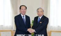 Chủ tịch nước Trần Đại Quang đi thăm tỉnh Gunmar, Nhật Bản