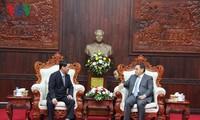 Việt Nam và Lào tăng cường hợp tác trong công tác mặt trận