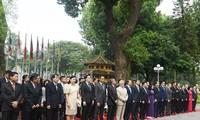 Lễ thuợng cờ ASEAN tại Hà Lan