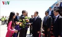 Chủ tịch nước Trần Đại Quang thăm cấp Nhà nước đến Ai Cập