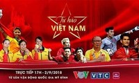 """Lễ vinh danh """"Tự hào Việt Nam!"""" tại sân Mỹ Đình"""