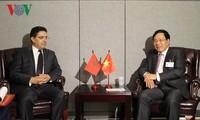 Phó Thủ tướng, Bộ trưởng Ngoại giao Phạm Bình Minh tiếp xúc song phương bên lề ĐHĐ LHQ khóa 73
