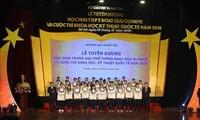 Bộ Giáo dục- Đào tạo tuyên dương học sinh phổ thông đoạt giải Olympic