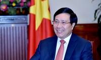 Phó Thủ tướng, Bộ trưởng Ngoại giao Phạm Bình Minh dự Hội nghị liên Bộ trưởng Ngoại giao - Kinh tế APEC