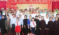 Lãnh đạo Đảng, Nhà nước dự Ngày hội Đại đoàn kết toàn dân tộc tại các địa phương