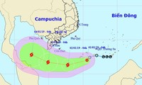 Sẵn sàng ứng phó với bão Pabuk, cơn bão đầu tiên của năm 2019