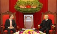 Tổng bí thư, Chủ tịch nước Nguyễn Phú Trọng tiếp Chủ tịch thượng viện Australia