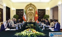 Thứ trưởng Ngoại giao Nguyễn Quốc Cường hội đàm với Thứ trưởng thứ nhất Bộ Ngoại giao Cộng hòa Hồi giáo Iran