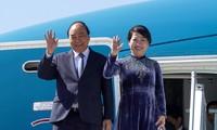 Thủ tướng Nguyễn Xuân Phúc đến Praha, bắt đầu thăm chính thức Cộng hòa Czech