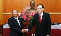 Củng cố, phát triển hơn nữa quan hệ hữu nghị Việt Nam - Campuchia