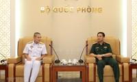 Quân đội Việt Nam và Thái Lan tăng cường hợp tác tuần tra chung trên biển