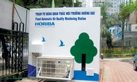 Pháp lắp đặt trạm quan trắc chất lượng không khí tại Hà Nội