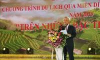 """Khai mạc Tuần Văn hóa """"Qua miền di sản ruộng bậc thang"""" Hoàng Su Phì"""