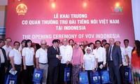 Khai trương cơ quan thường trú VOV tại Jakarta, Indonesia