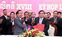 Kỳ họp thứ 18 Ủy ban Chuyên trách Chính phủ Việt Nam-Campuchia