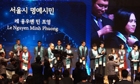 Lê Nguyễn Minh Phương- Người Việt Nam đầu tiên được vinh danh công dân danh dự Seoul