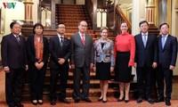 Bí thư Thành ủy Tp Hồ Chí Minh Nguyễn Thiện Nhân thăm và làm việc tại Australia