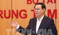 Phó Thủ tướng Vương Đình Huệ chủ trì cuộc họp của Hội đồng tư vấn chính sách, tài chính, tiền tệ quốc gia