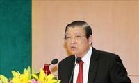 Ban Nội chính Trung ương tổng kết công tác năm 2019, triển khai nhiệm vụ năm 2020