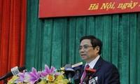 Trưởng Ban tổ chức Trung ương Phạm Minh Chính tiếp Bộ trưởng Nội vụ, thông tin và truyền thông Nhật Bản Takaichi Sanae